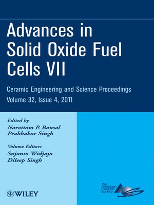 cover image of Advances in Solid Oxide Fuel Cells VII